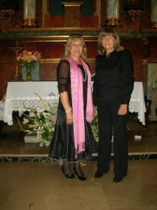 Mariana Martín, soprano y Marce G. Cuadrado, organista