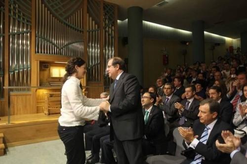 Ana Aguado y Juan Vicente Herrera