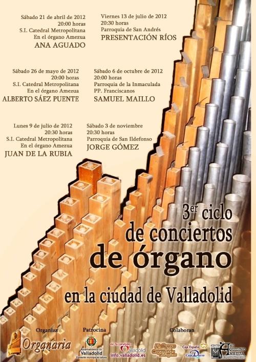 3er Ciclo Conciertos de Órgano Valladolid
