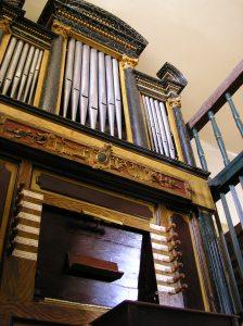 Órgano de Lastras del Pozo (Segovia)