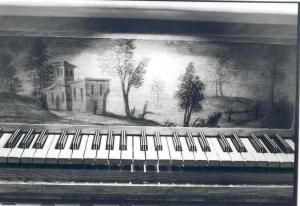 teclado del órgano de la Iglesia de San Andrés de Valladolid