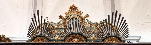 Iglesia de Santa María de Tordesillas (Valladolid) - Órgano