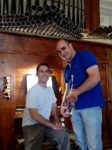 Jesús Moisés Núñez Quintanilla y Jorge Colino
