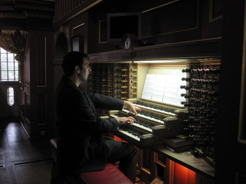 Arturo Barba Sevillano, organista