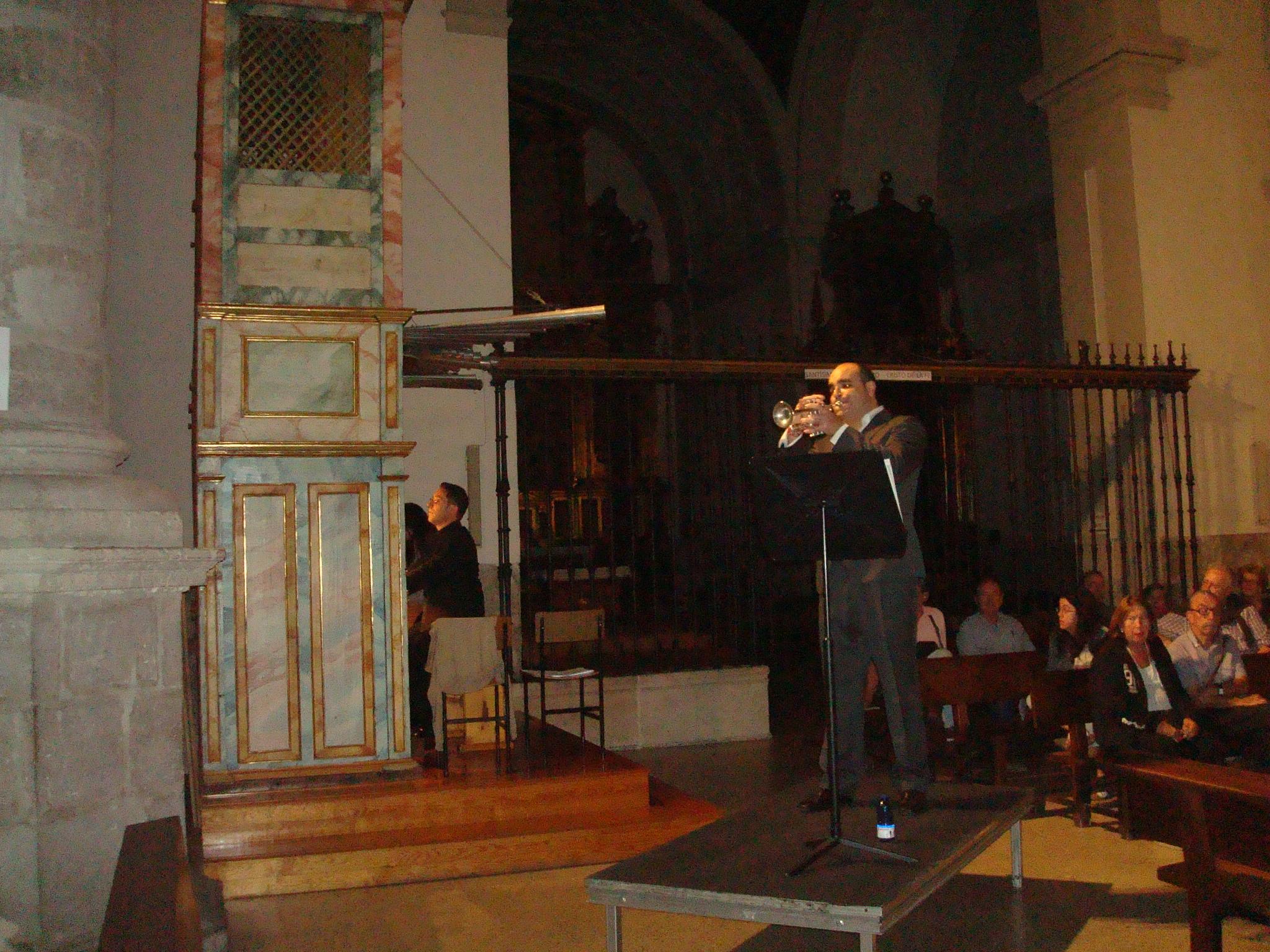 Jorge Colino, órgano y Jesús M. Núñez Quintanilla
