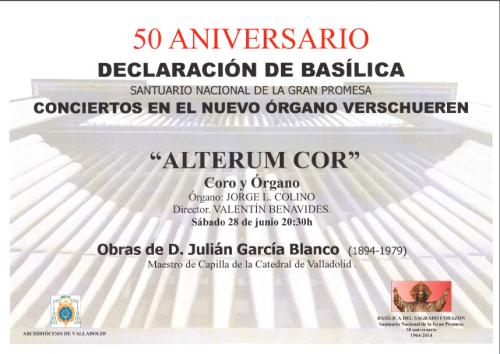 Concierto Santuario 28 de junio 2014 Valladolid