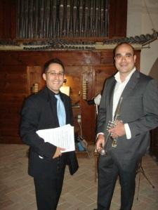 Jorge Colino y Jesús Núñez