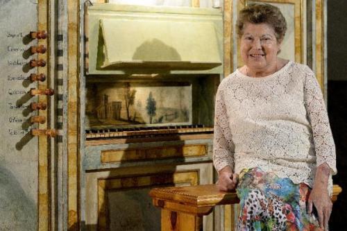 Lucía Riaño, organista