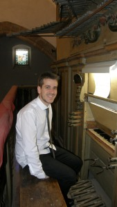 Víctor Fonseca, organista