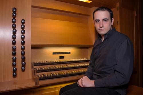 Enrique Martín-Laguna, organista