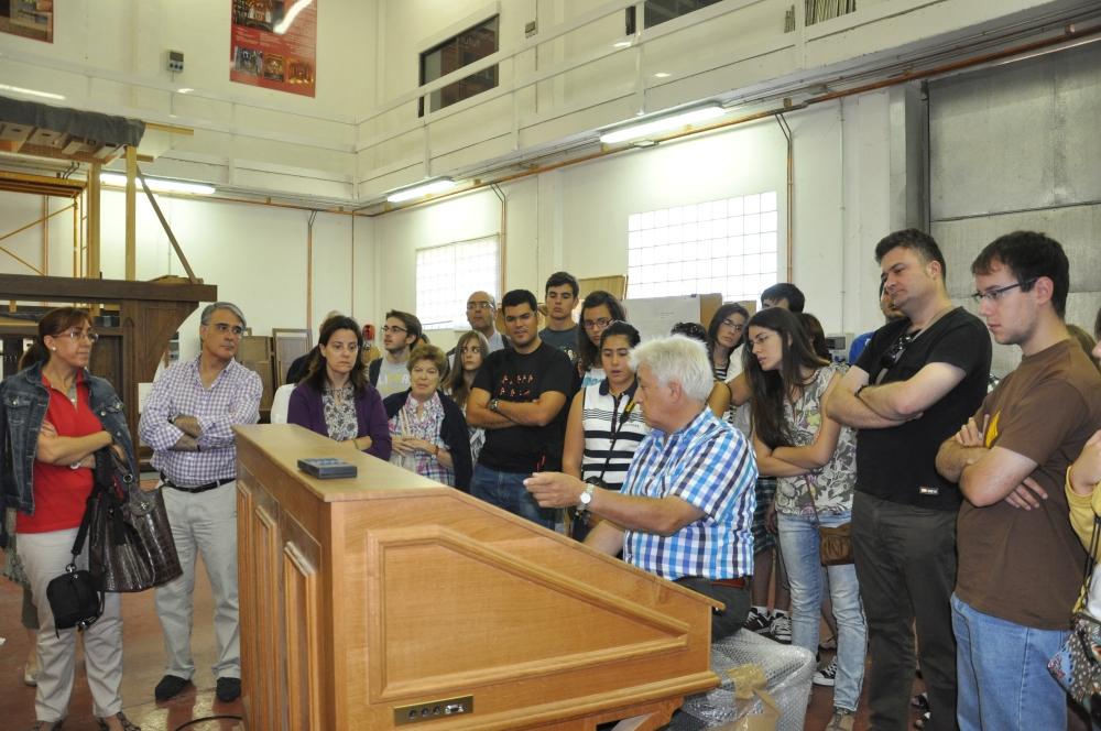 XXXV CURSO DE INICIACIÓN AL ÓRGANO BARROCO ESPAÑOL Olmedo (Valladolid) del 23 al 29 de agosto de 2015: inscripciones hasta el 7 de agosto