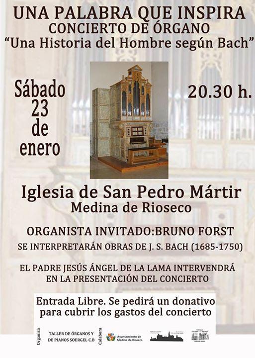 Bruno Forst concierto de órgano