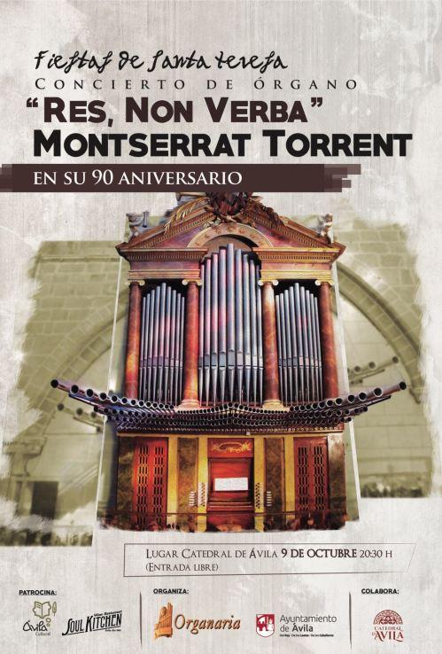 MONTSERRAT TORRENT 9 de octubre de 2016 Catedrall de Ávila