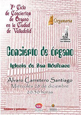 ´Concierto Álvaro Carretero