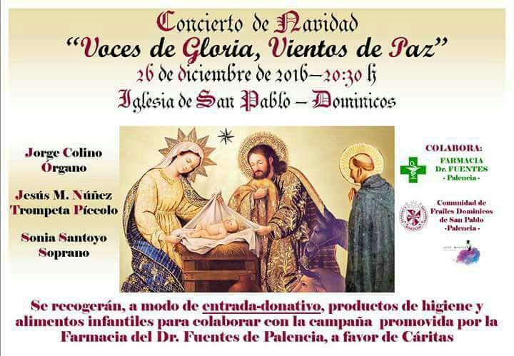 Concierto de Navidad Palencia 2016