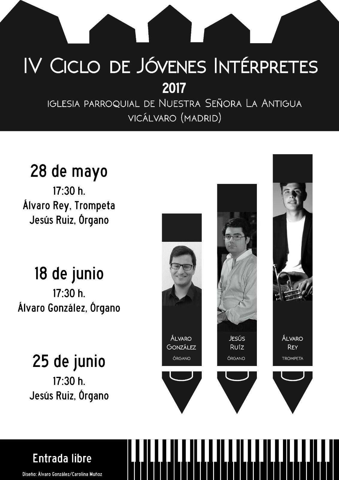 Conciertos de rgano madrid asociaci n manuel mar n de for Eventos madrid mayo 2017
