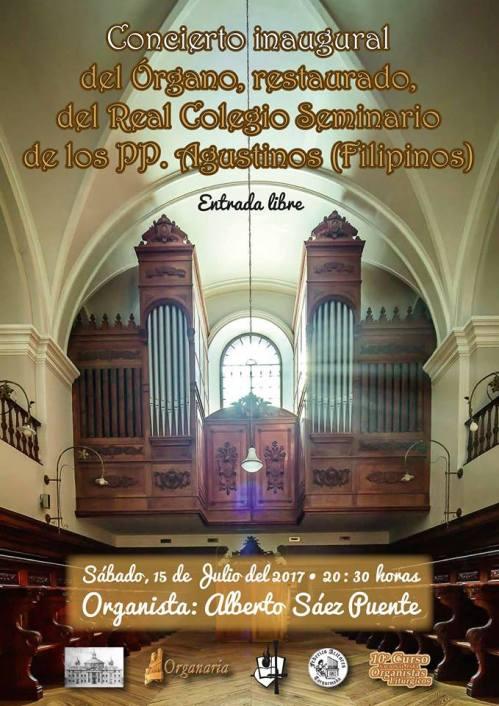 Órgano Agustinos Filipinos de Valladolid