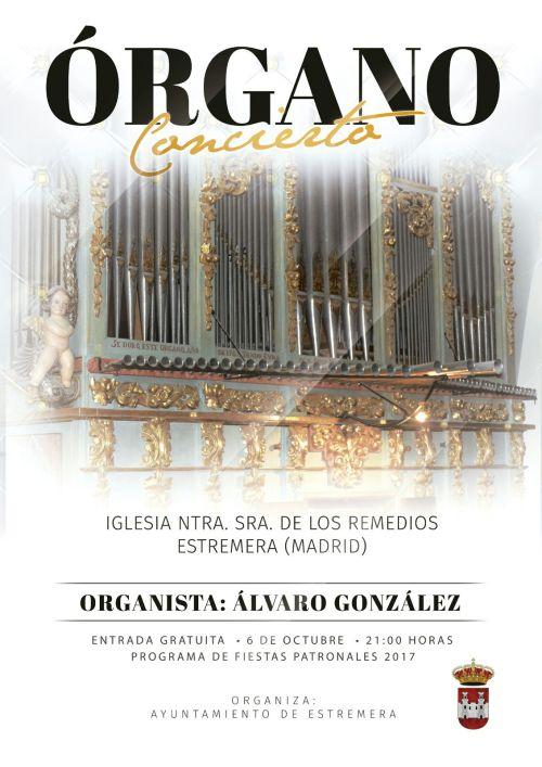 Concierto de órgano, Estremera (Madrid)