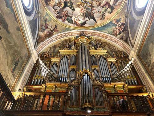 Órgano de la Catedral de Jaca - Órgano de Abel Acitores de la Cruz