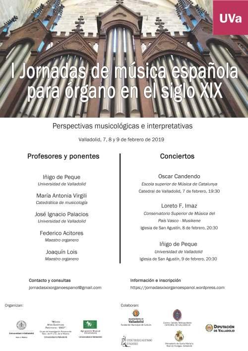 Joornadas Órgano Español S. XIX