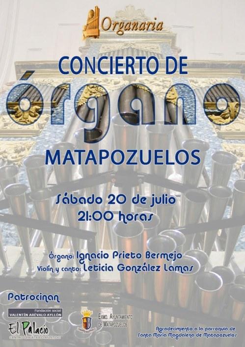 MATAPOZUELOS Concierto de órgano