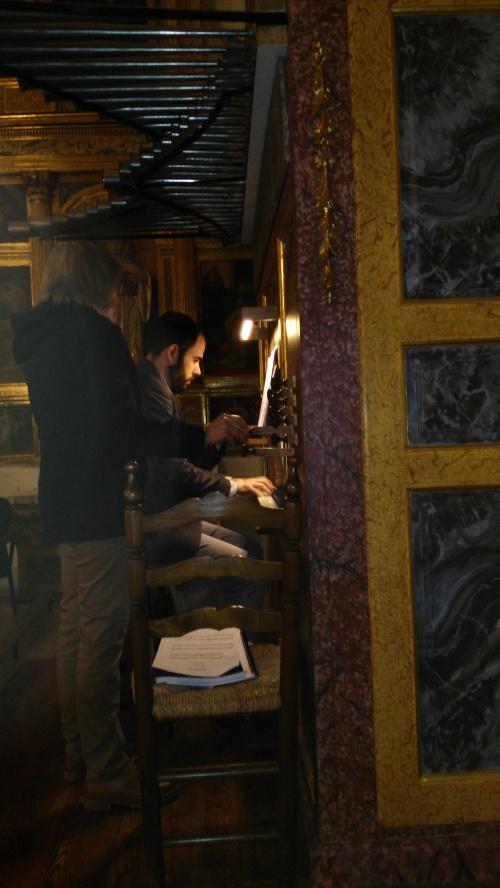 Íñigo de Peque Leoz, organista