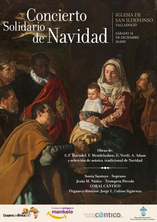 Concierto Coral Cántico 14 diciembre 2019 Valladolid