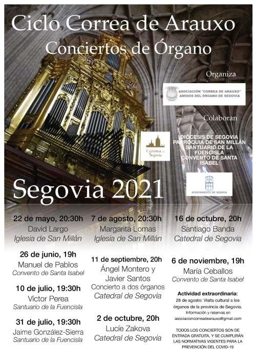 Conciertos de órgano - Segovia 2021